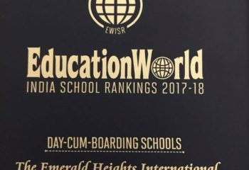 Education World Ranking No 4 Emerald Heights School