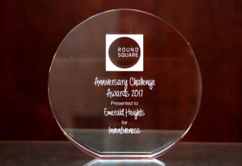 ROUND SQUARE ANNIVERSARY CHALLENGE AWARD 2017 EMERALD HEIGHTS SCHOOL 4