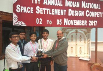 SPACE SETTLEMENT COMPETITION RUNNER UP EMERALD HEIGHTS SCHOOL
