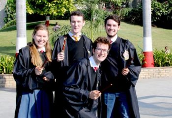 HALLOWEEN EXCHANGE STUDENTS EMERALD HEIGHTS SCHOOL 1
