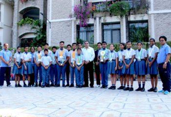 IPSC SWIMMING WINNERS EMERALD HEIGHTS SCHOOL