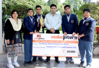 NATIONAL CHAMPIONSHIP IIT DELHI WINNERS EMERALD HEIGHTS SCHOOL