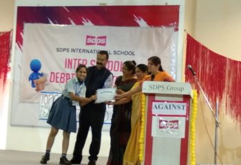 AVNI CHADHA DEBATE WINNER SDPS EMERALD HEIGHTS SCHOOL