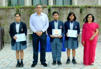 HINDI PANEL DISCUSSION WINNERS EMERALD HEIGHTS SCHOOL