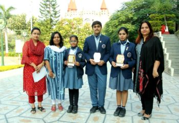 VAISHNAV PAINTING COMPETITION WINNERS EMERALD HEIGHTS SCHOOL