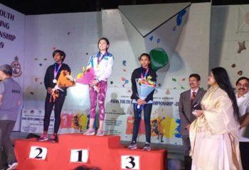 SANIYA SHAIKH IMF BRONZE ASIAN YOUTH CHAMPIONSHIP SPEED CLIMBING EMERALD HEIGHTS SCHOOL 1
