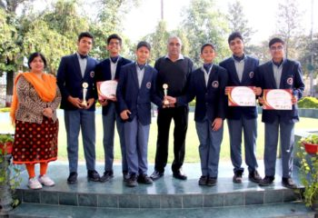 IIM SPORTS QUIZ RANBHOOMI WINNERS EMERALD HEIGHTS SCHOOL 2019